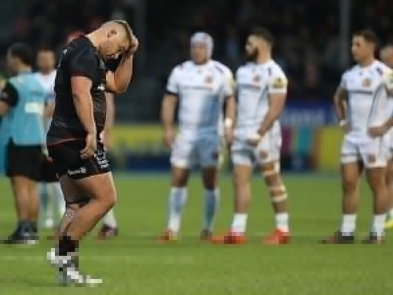 Saracens duo in hot water over Parling team-tackle