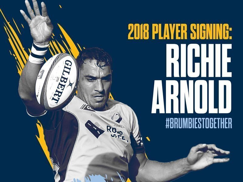 Arnold twin to make Brumbies debut