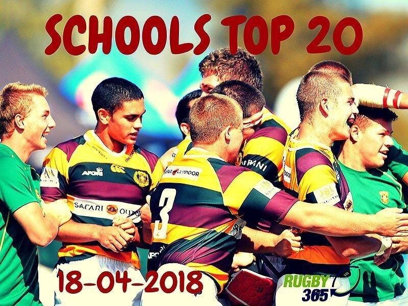 Schools Top 20 - April 18