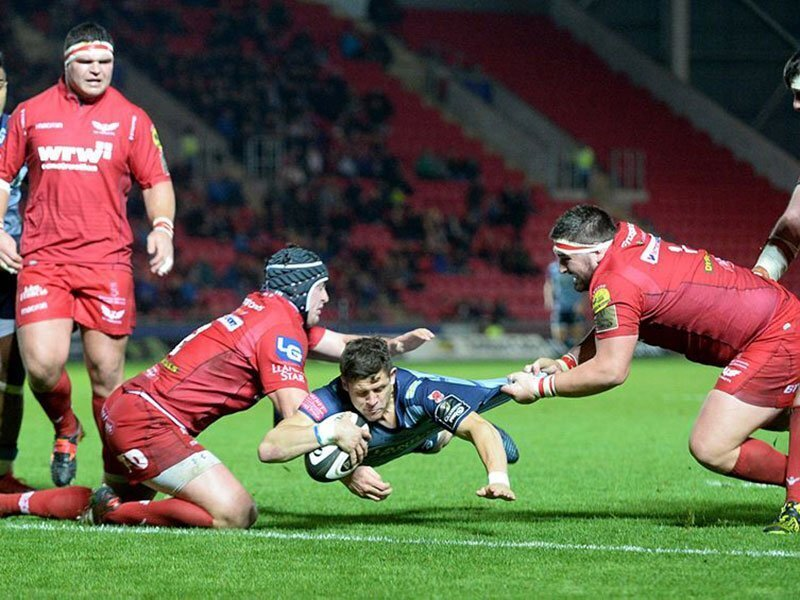 Scarlets too good for rivals Cardiff Blues