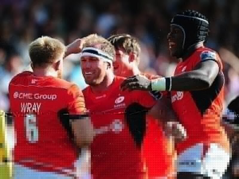 Burger: Sarries staying grounded