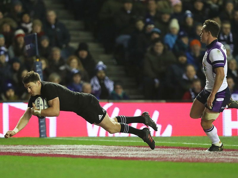Scotland push All Blacks all the way