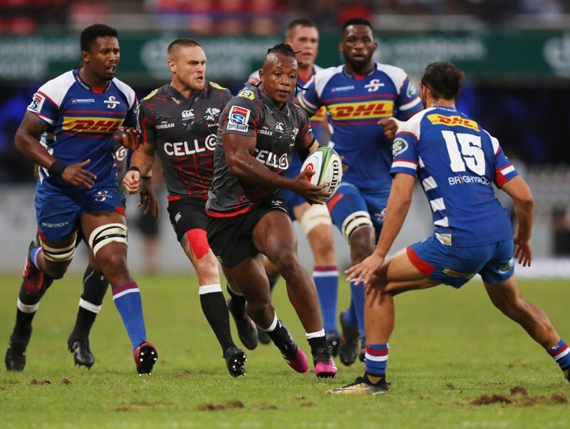 Sharks down Stormers in dour derby