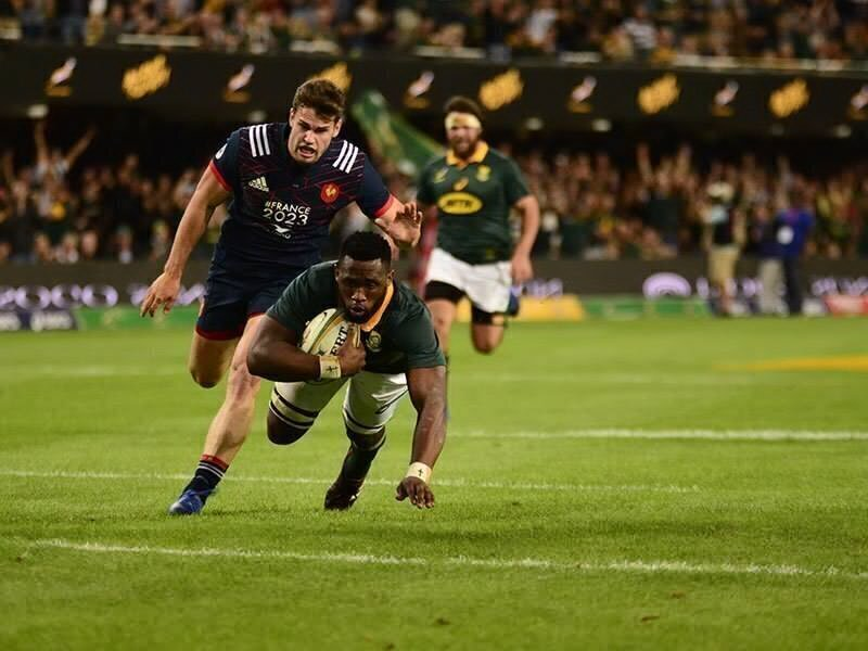 Boks secure series victory against France