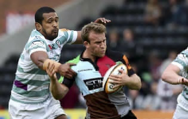 Two Quins forwards forced to quit