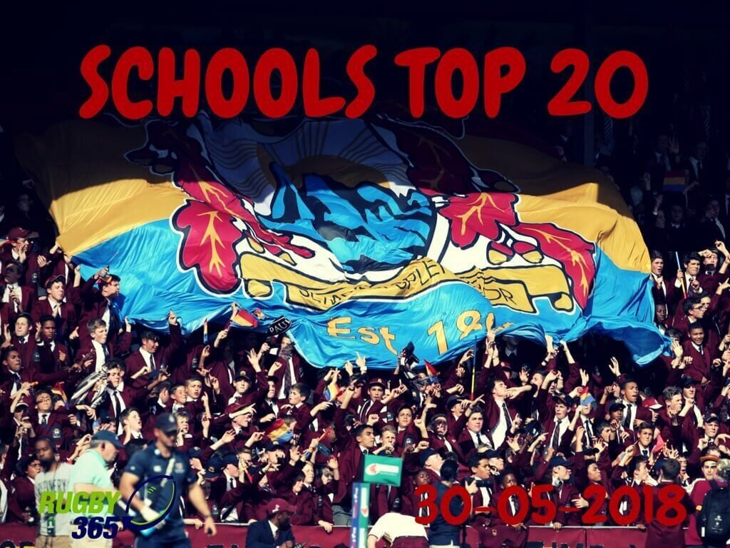 Schools Top 20 - 30 May 2018