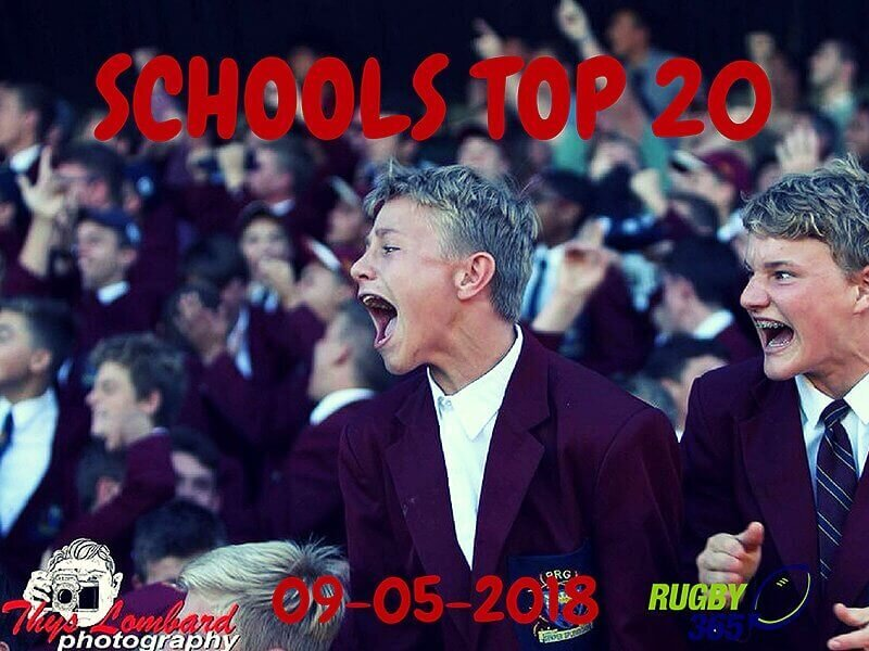 Schools Top 20 - 8 May 2018