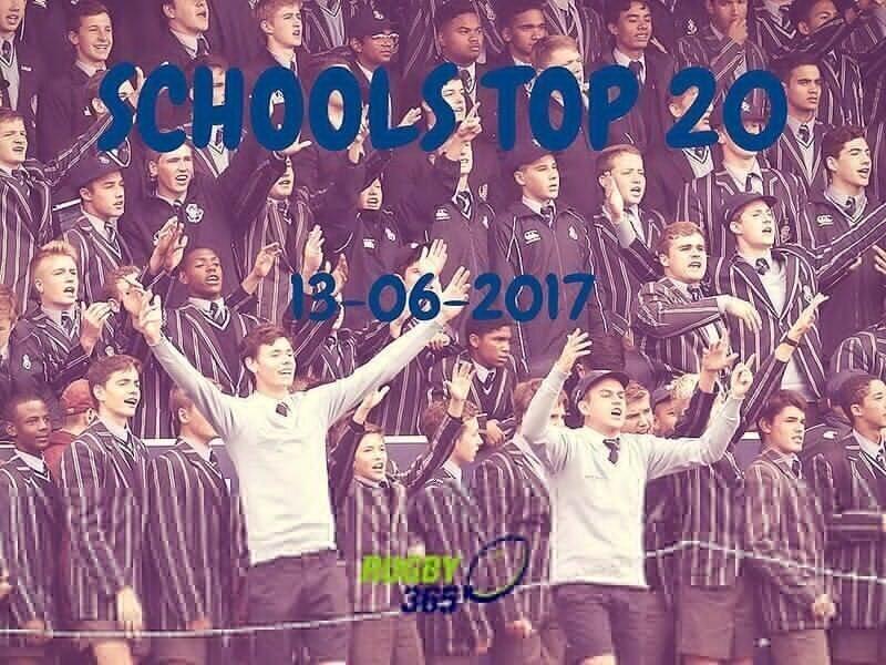 Schools Top 20 - June 13