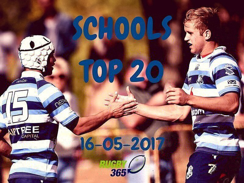 Schools Top 20 - May 16