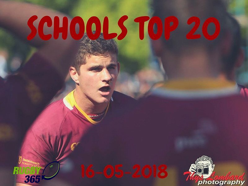 Schools Top 20 - 15 May 2018
