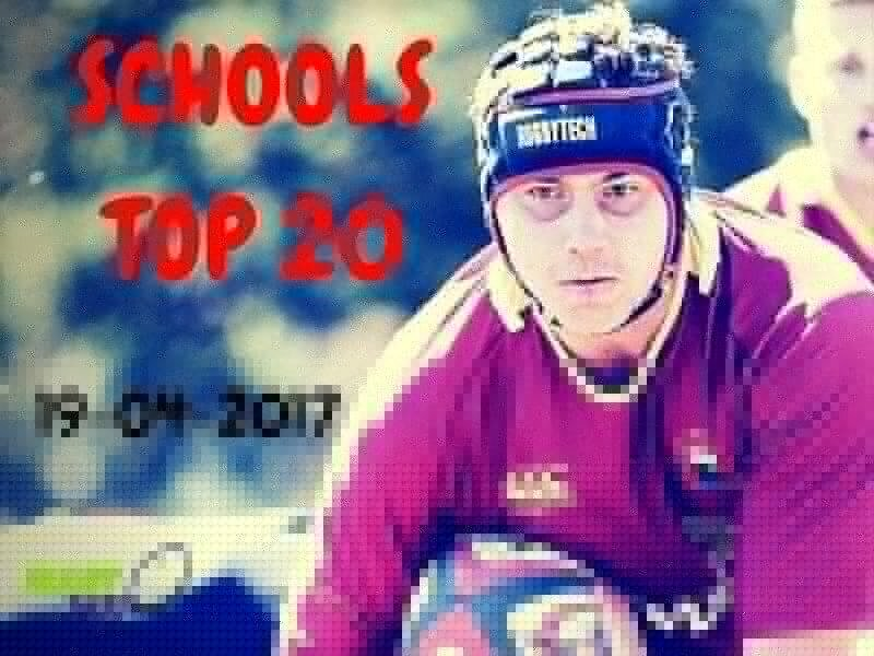Schools Top 20 - April 19