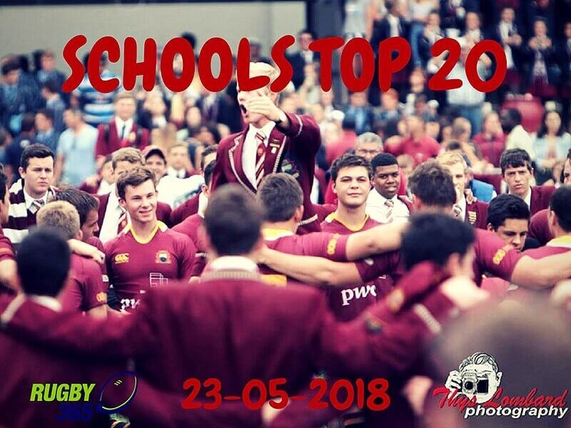 Schools Top 20 - 23 May 2018