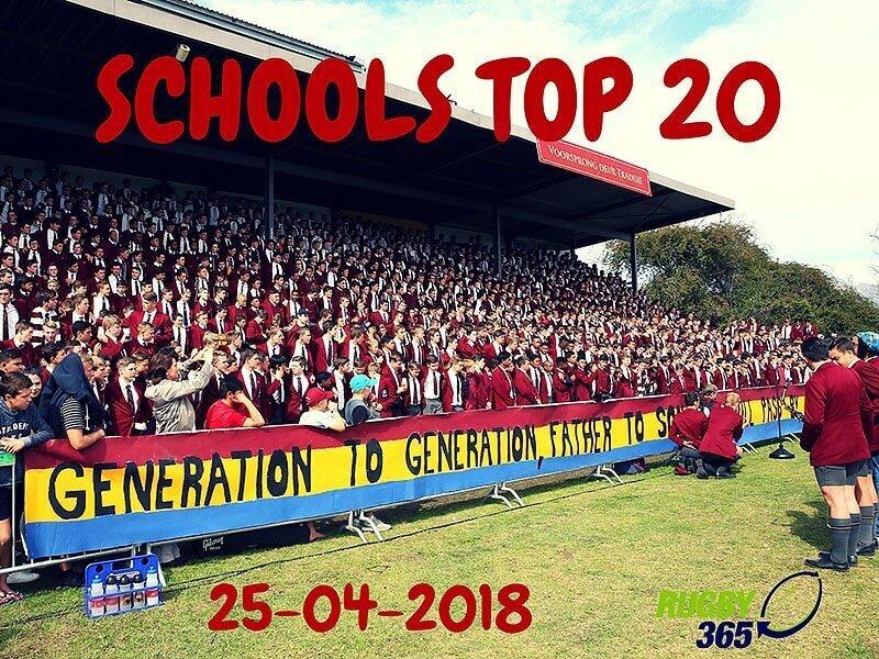 Schools Top 20 - April 24