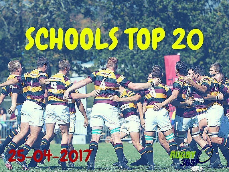 Schools Top 20 - April 25