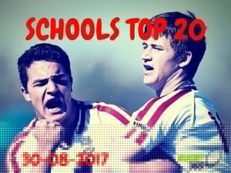 Schools Top 20 - August 30