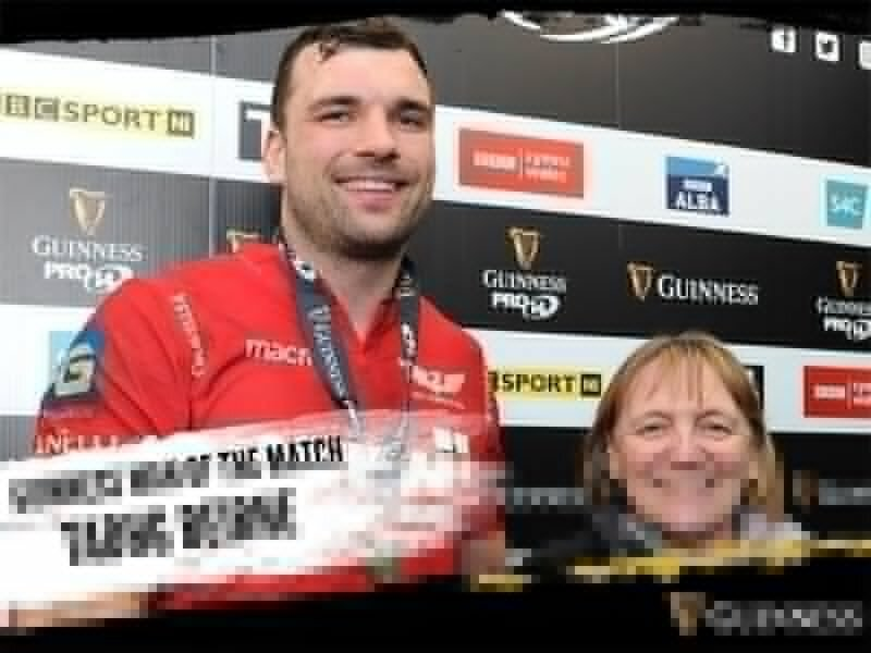 Scarlets in stylish bonus-point win over Ulster