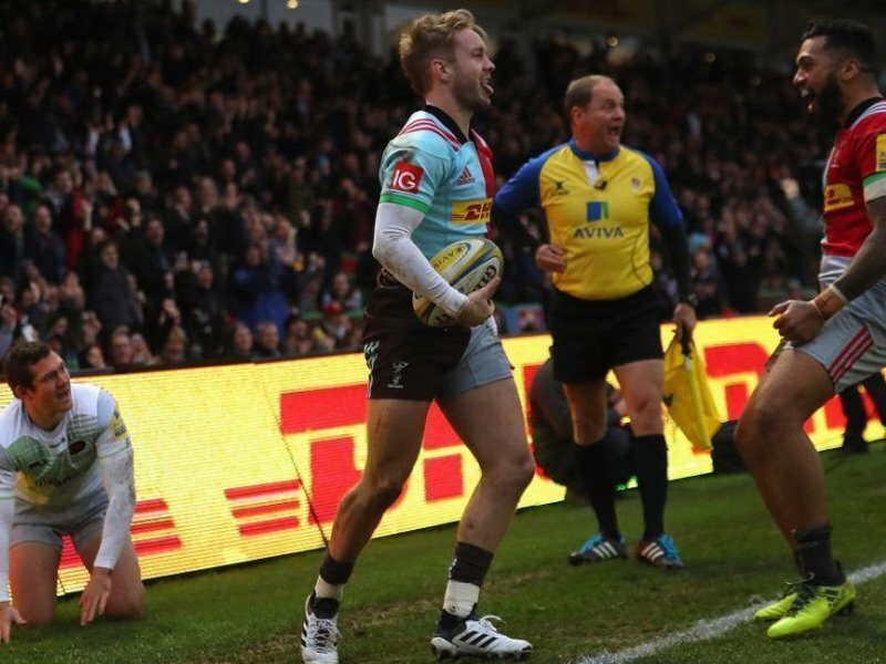 Quins seal dramatic win over Sarries