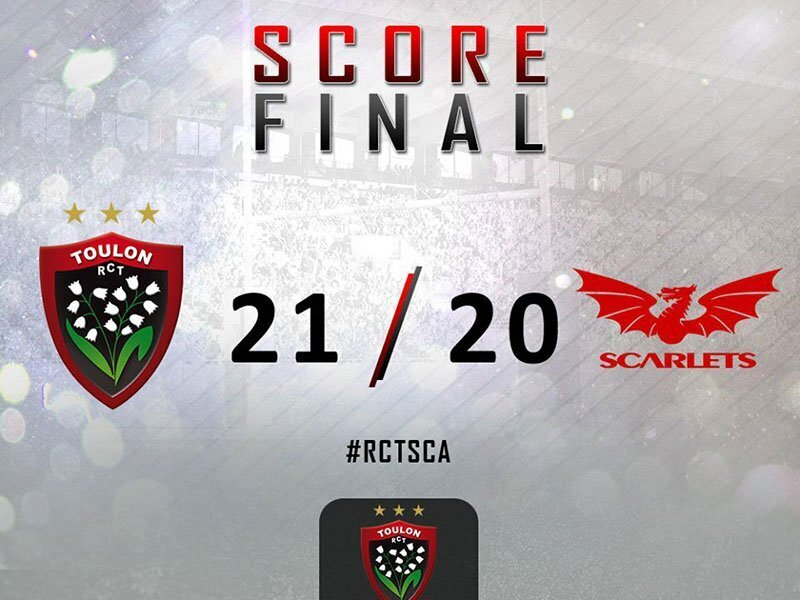 Toulon hold off Halfpenny-inspired Scarlets