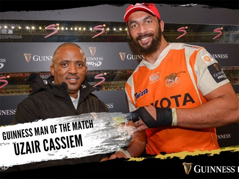 Penalty try gifts Cheetahs a crucial win