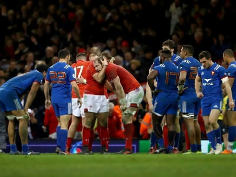 Wales down stubborn France for second spot
