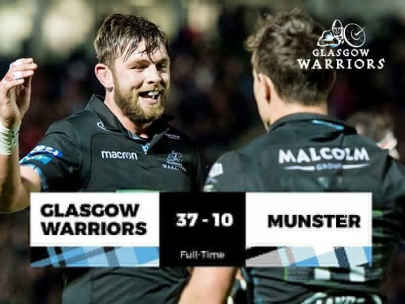 Warriors ease past Munster