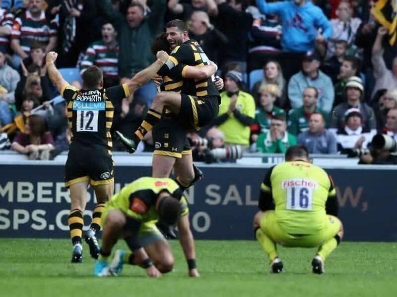 Bassett's strike steer Wasps into final