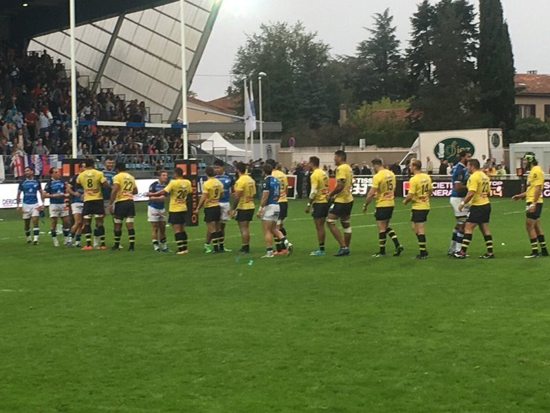 Champs Clermont falter again at Castres