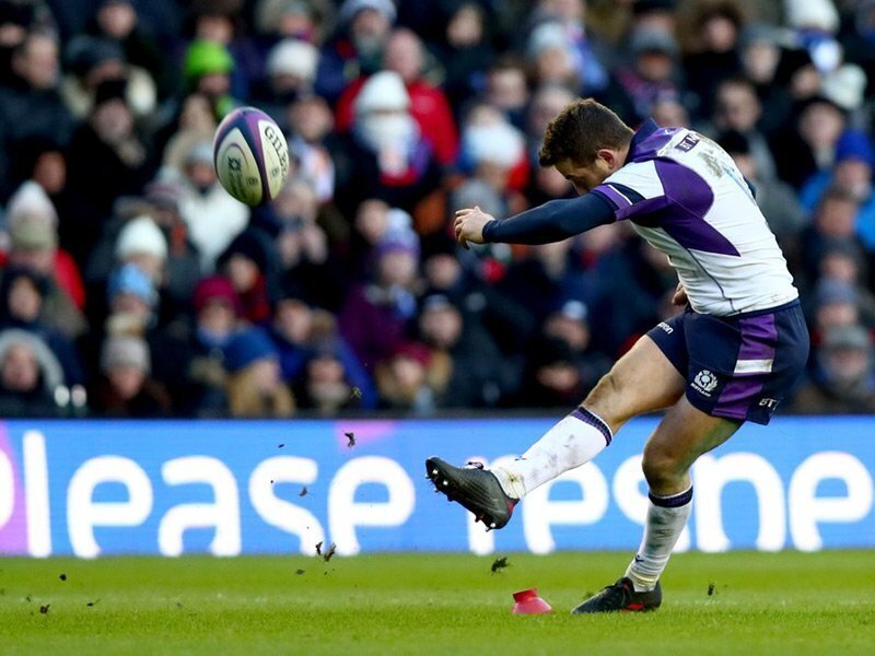 Laidlaw boots Scotland to win over fiesty France