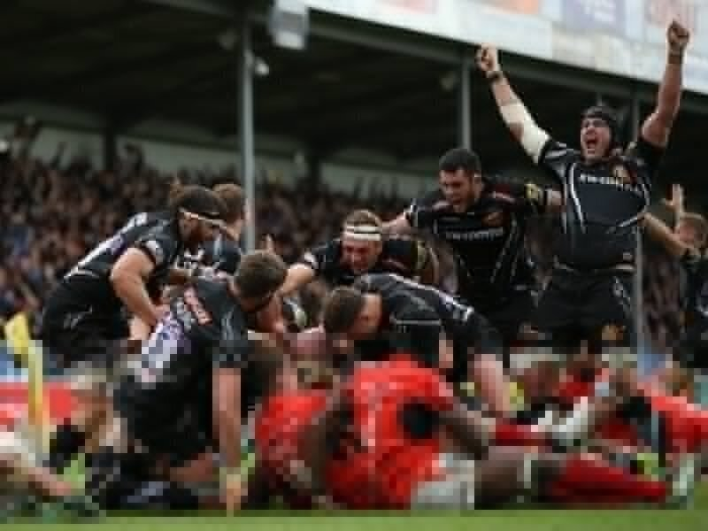 Exeter deny Sarries a 'double-double'