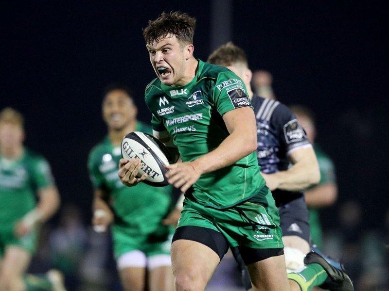 Connacht punish 14-man Munster