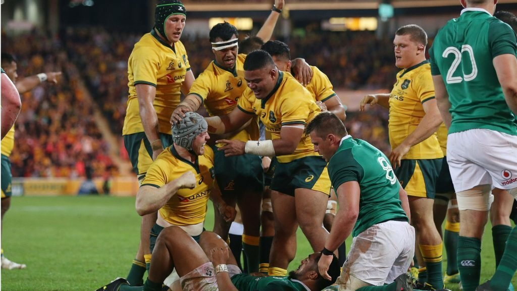 Cheika makes history ahead of second Test