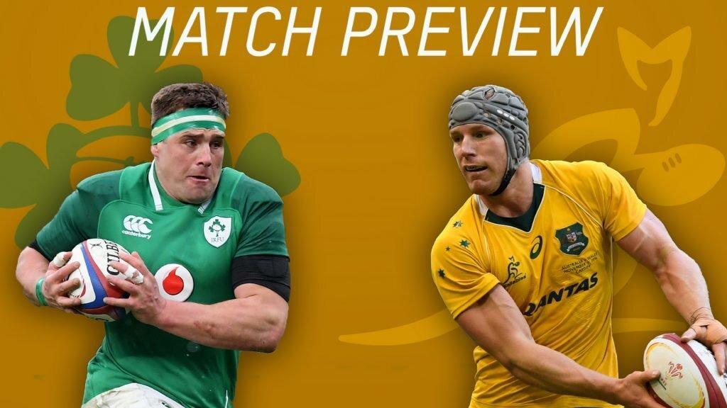 Preview: Australia v Ireland