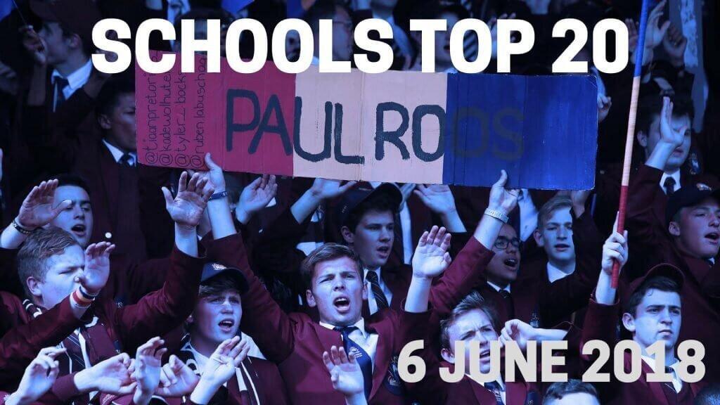Schools Top 20 - June 6