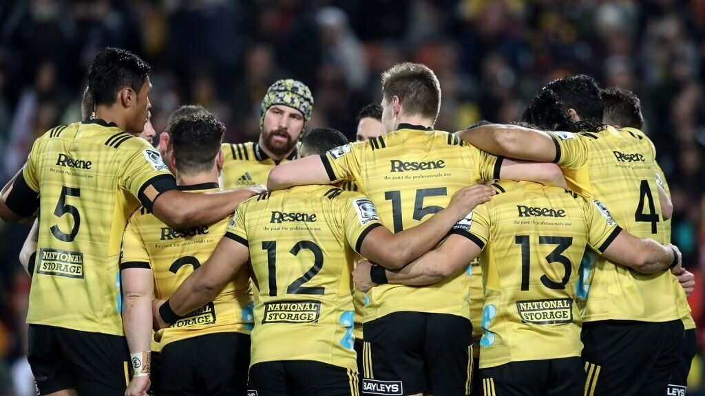 Hurricanes duo join All Blacks' 2019 World Cup defence