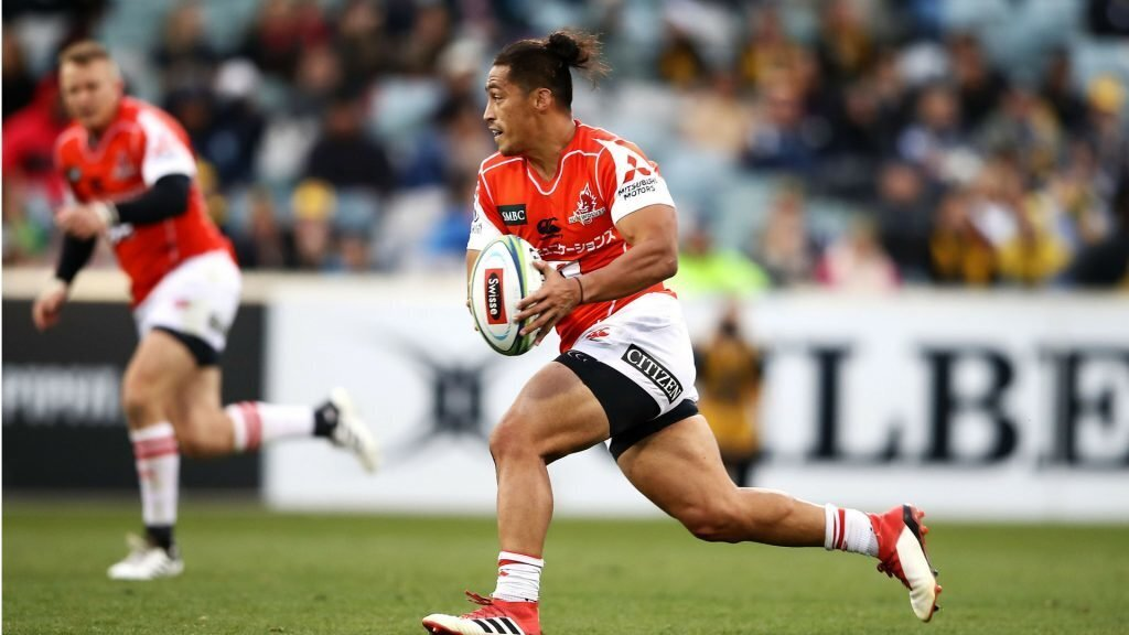 Emery at fullback for Sunwolves