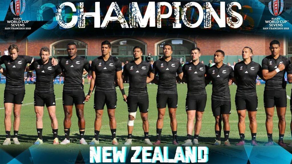 SEVENS WORLD CUP: Kiwis do the double twice