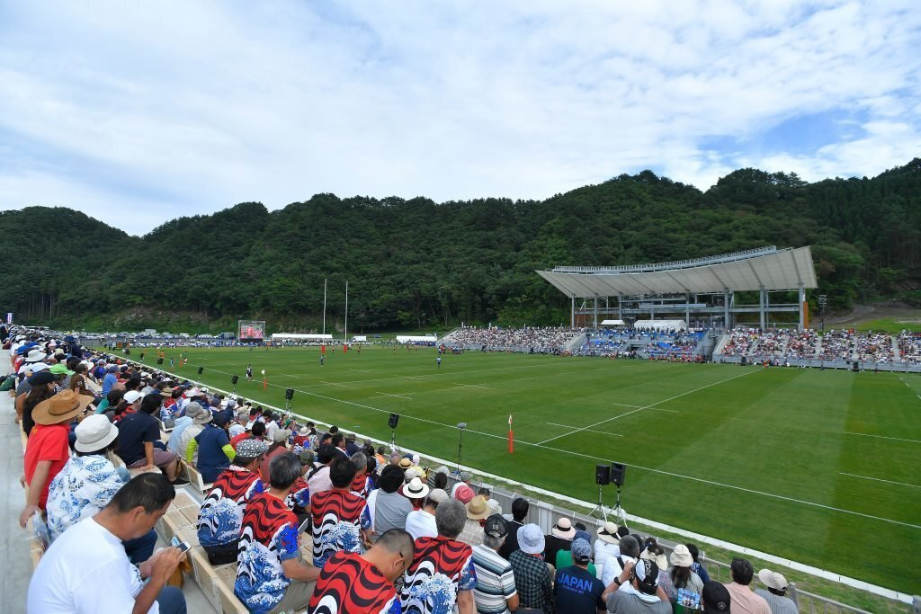 World Cup revives Japan's tsunami-hit 'Rugby town'