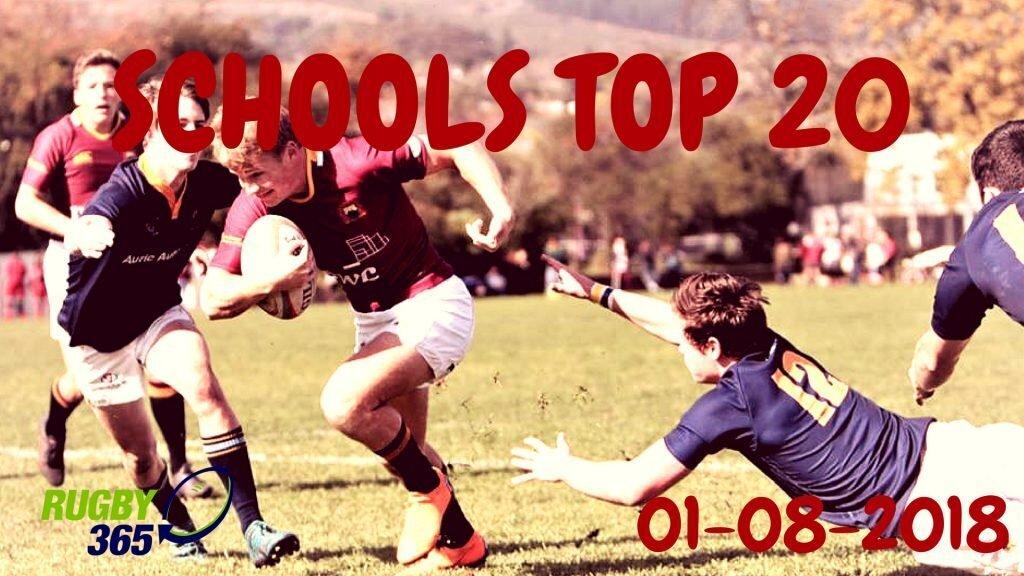 Schools Top 20 - August 1