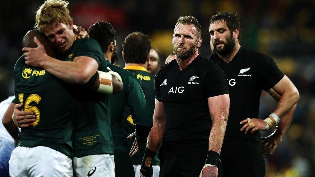 VIDEO: All Blacks feeling pain of defeat