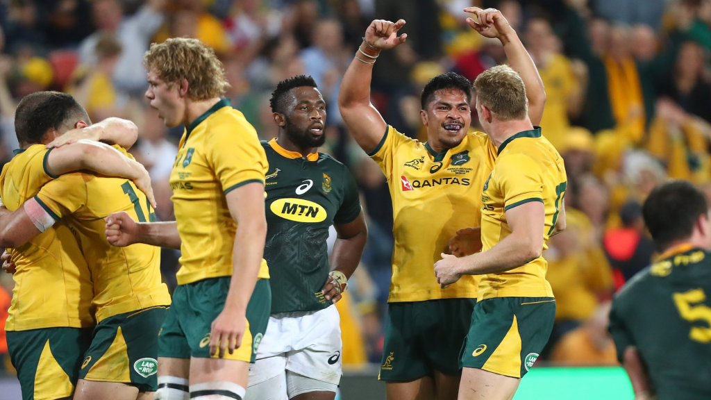 Wallabies lock in Samu