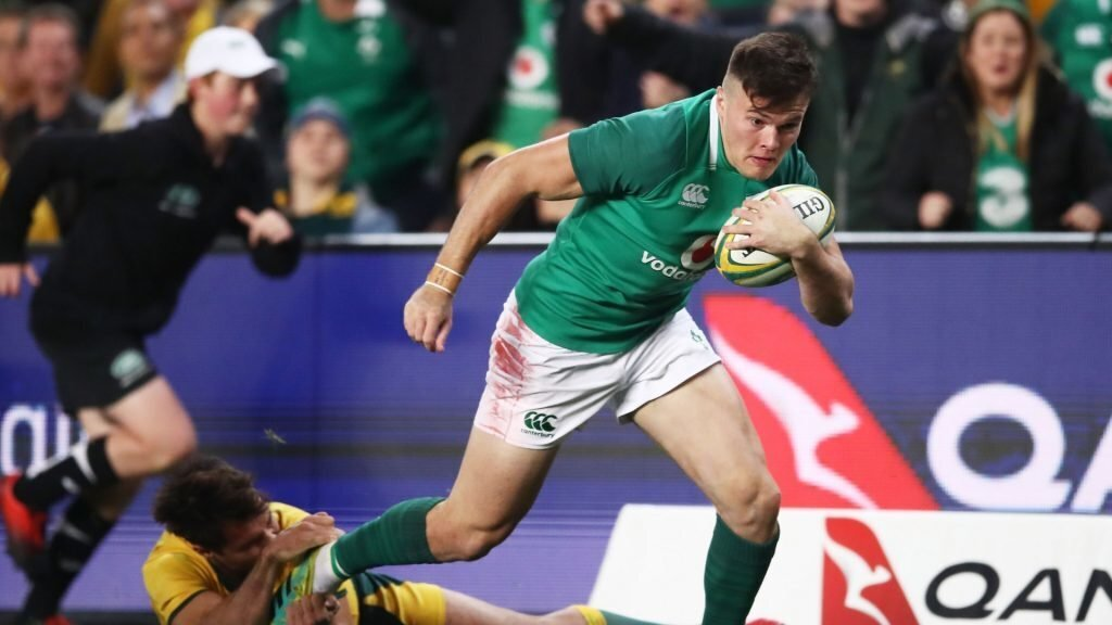 New-look Ireland to face Italy