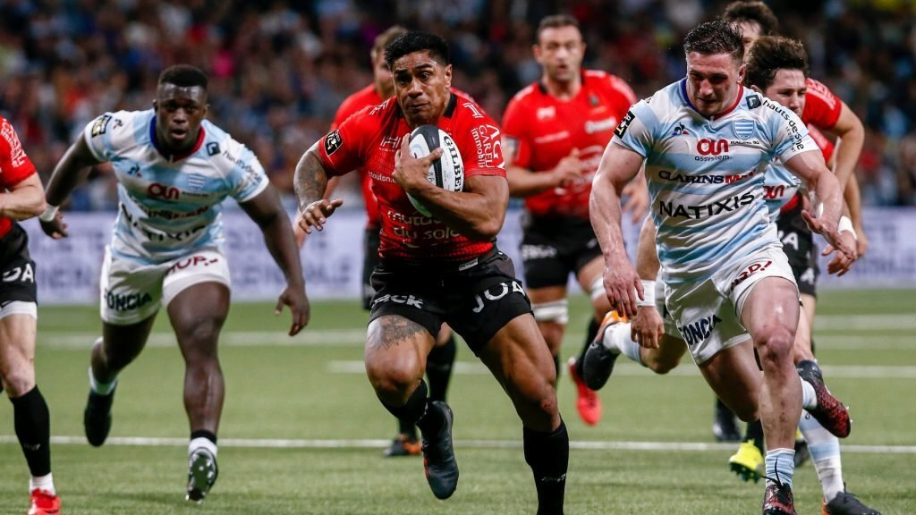 Toulon's All Black out for six weeks