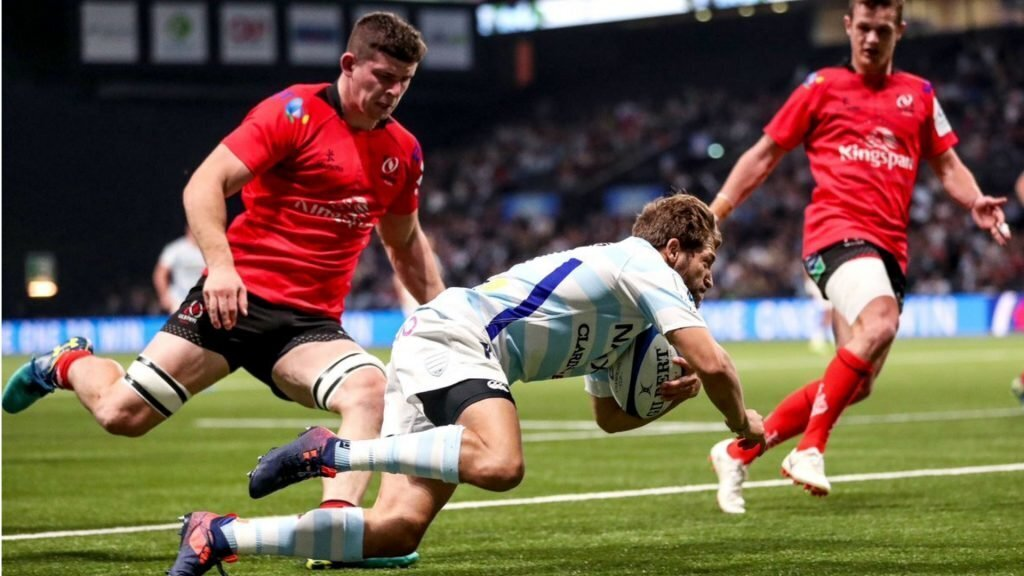 Racing too good for Ulster