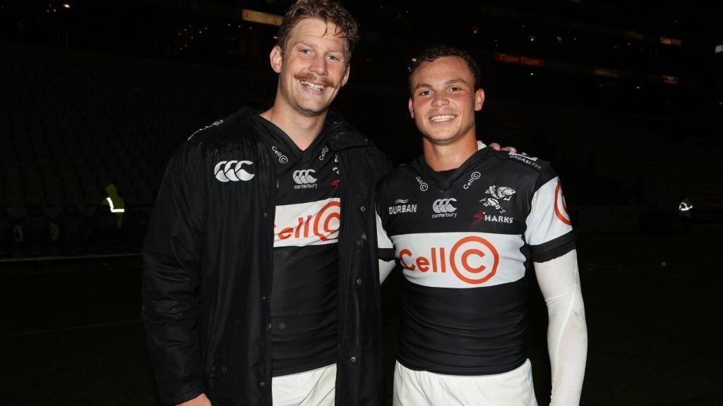 Du Preez, Bosch combination gives Sharks 'new dimension'