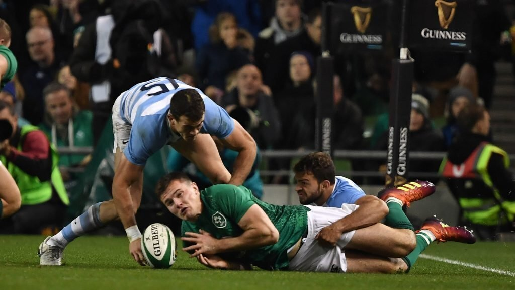 Ireland beat Argentina but at a cost
