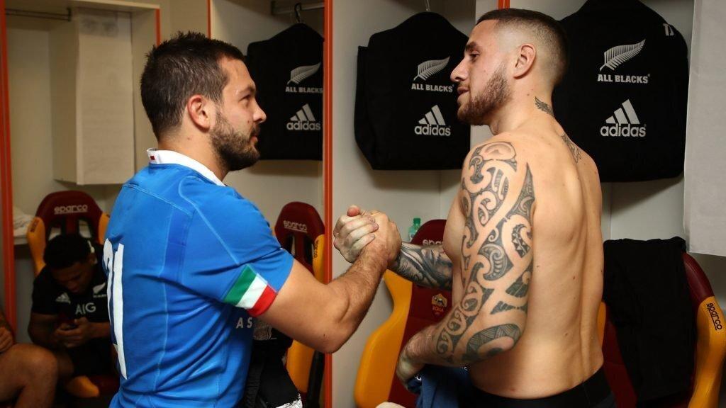 Italy reeling after All Blacks bashing