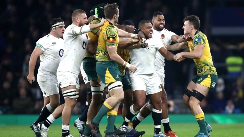 England prop tells Wallabies they are 'all ****ing snitches'