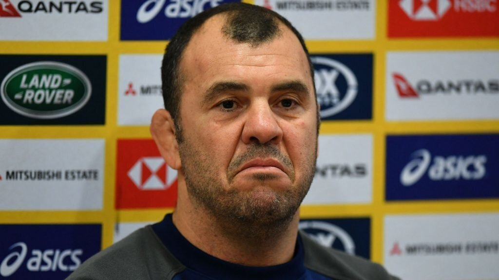 Cheika breaks silence over Hansen's 'Mickey Mouse' jibe