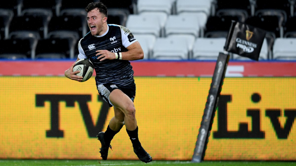 Morgan hat-trick in Ospreys rout