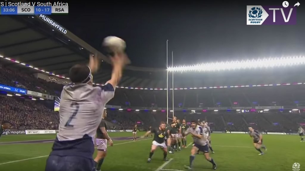 Law discussion: Scotland's line-out try